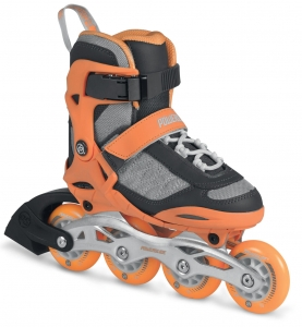 Rolki Powerslide Kids Galaxy neon/orange